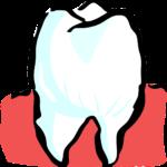 Śliczne urodziwe zęby także powalający prześliczny uśmiech to powód do płenego uśmiechu.